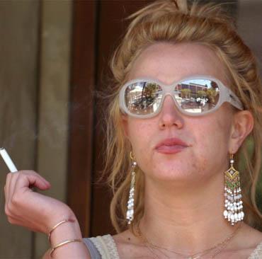 Likes: Smoking, Starbucks, auto-tune. Dislikes: Court orders, cardio, her hair.