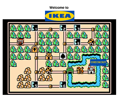 IKEA MARIO BROS